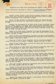 """Salvaguarda del patrimonio artístico catalán durante la Guerra Civil española · ANC · Exposición """"L'Art Catalan"""" · Chateau de Maisons-Laffitte, Paris · Inventario de obras procedentes del depósito de Olot que fueron expuestas · 1937"""