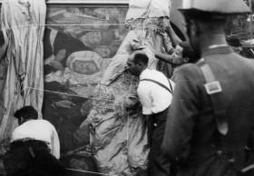 "Salvaguarda del Patrimonio Artístico catalán durante la Guerra Civil española · Llegada a Barcelona del patrimonio expuesto en Paris · ""L'art catalan du xe au xve siècle"" · ""L'art catalan à Paris"""