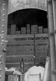 Salvaguarda del Tesoro Artístico Nacional durante la Guerra Civil española · Las Torres de Serranos acondicionadas como depósito de obras de arte