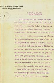 Salvaguarda del patrimonio artístico catalán durante la Guerra Civil española · Exposición L'art catalan · París · Retorno de las obras · 1940 · ANC · Fondos de la Junta de Museos